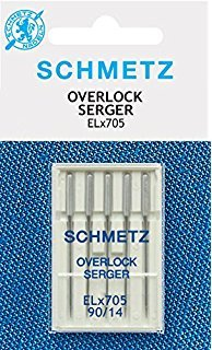 Needles Schmetz for Sergers -Pfaff BablylockEvolve