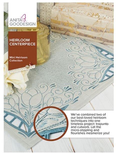 Anita Goodesign - Heirloom Centerpiece