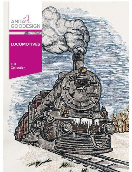 Anita Goodesign - Locomotives