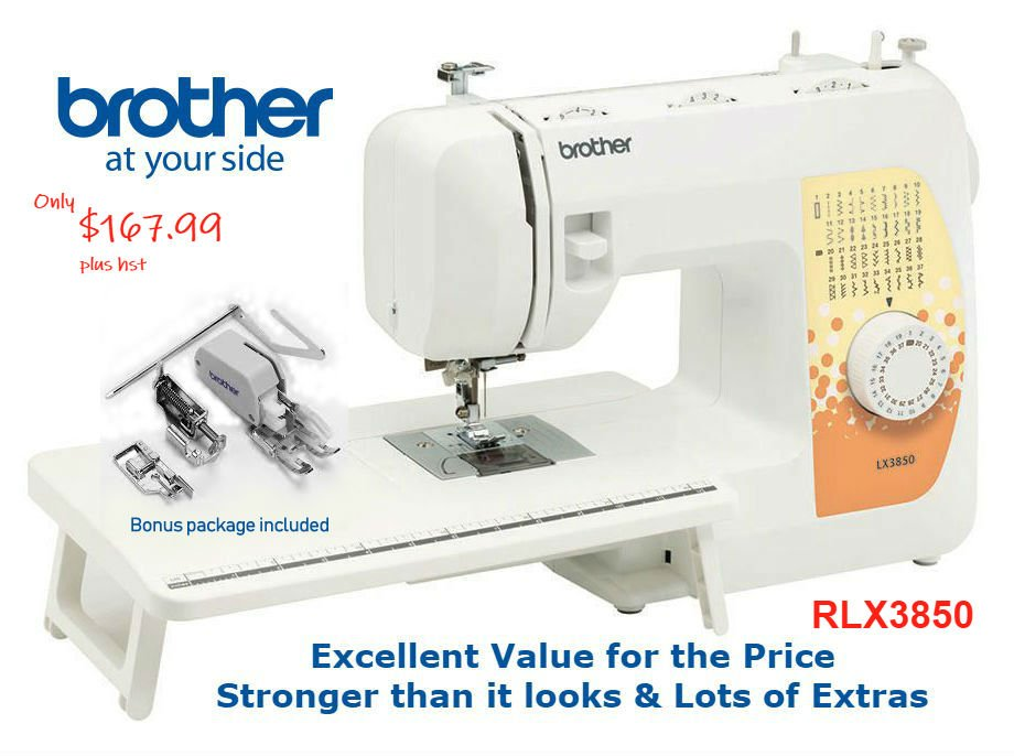 Brother RLX3850 Mechanical Sewing & Quilting Now $137.99