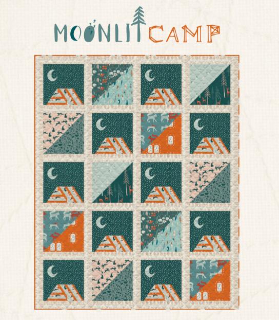 Moonlit Camp Quilt Pattern