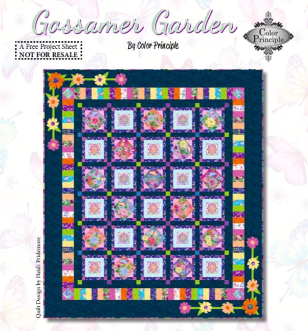 Gossamer Garden Quilt Pattern #2