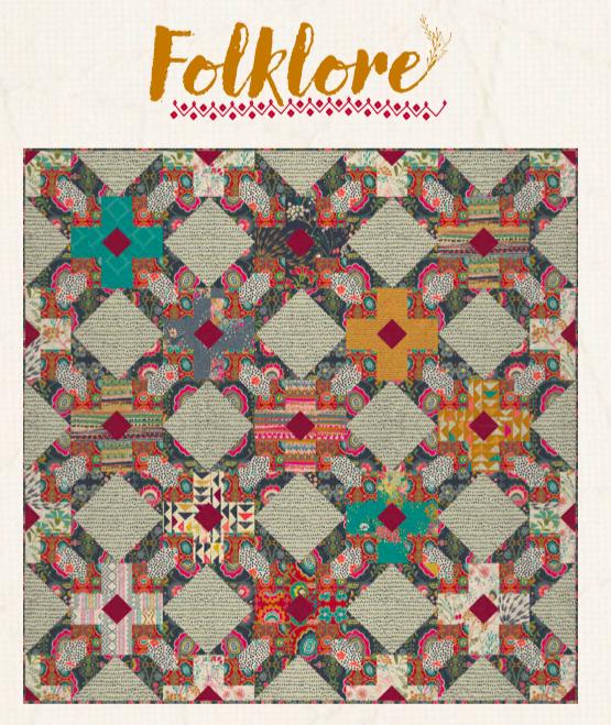 Folklore Quilt Pattern
