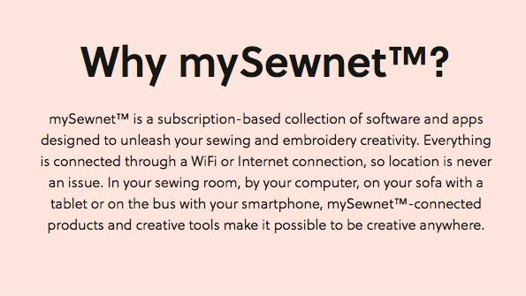 Husqvarna mySewnet 12 Month Subscription