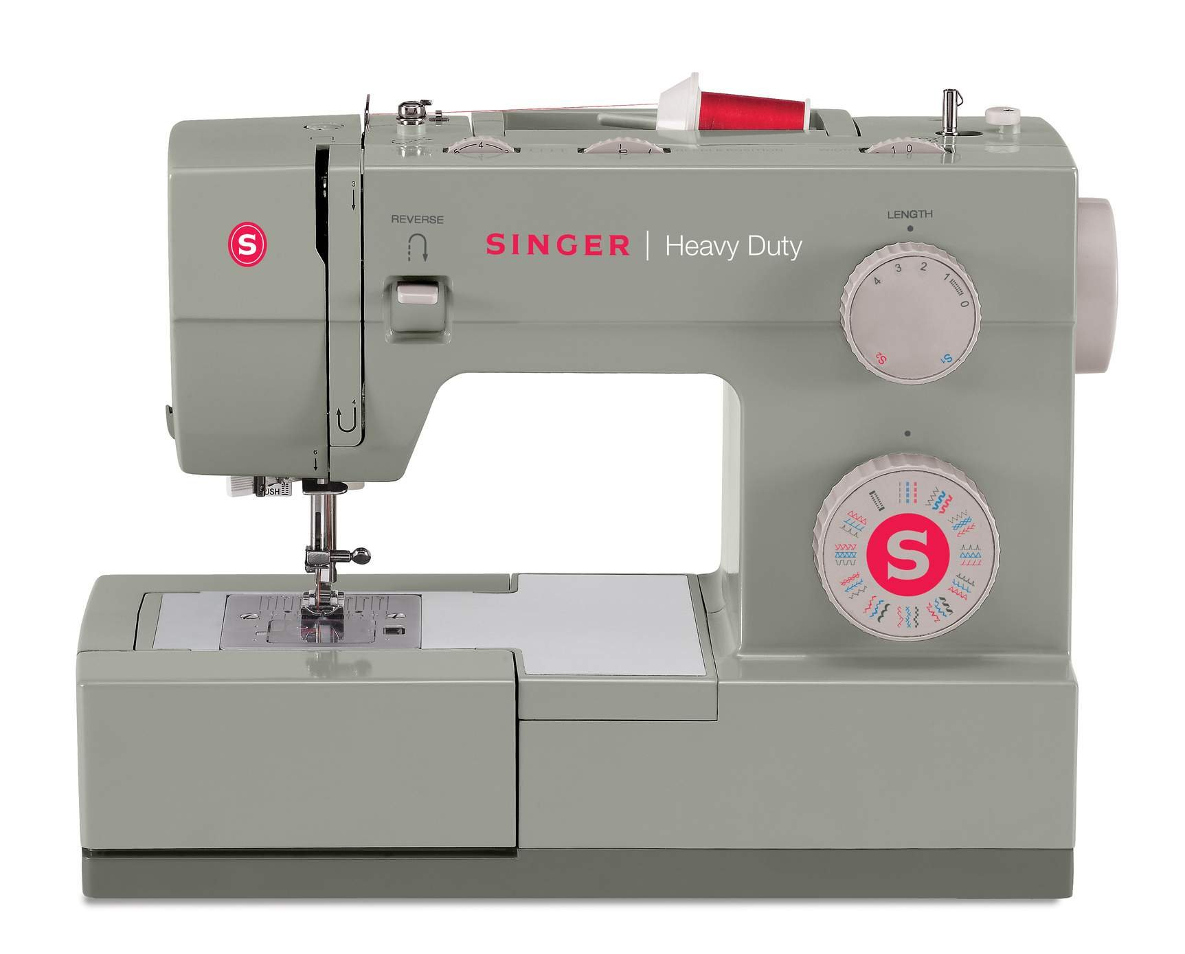 Singer Heavy Duty 4452 Sewing Machine Now $299.99