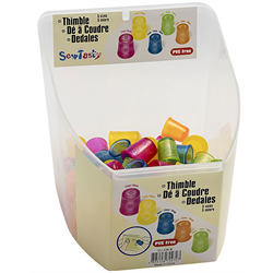 Stitchers' Thimbles 5 different sizes - #14 15 16 17 18