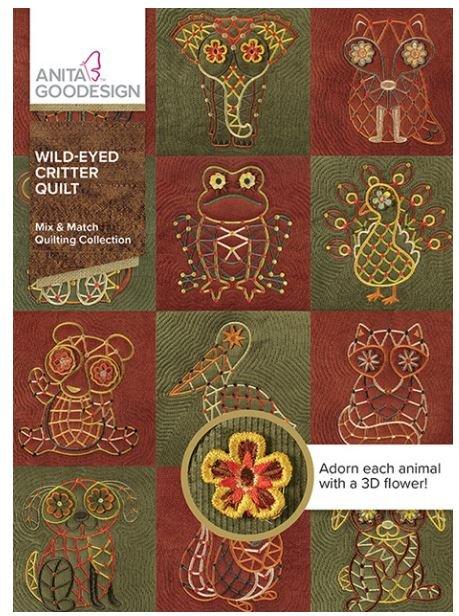 Anita Goodesign - Wild-Eyed Critter Quilt