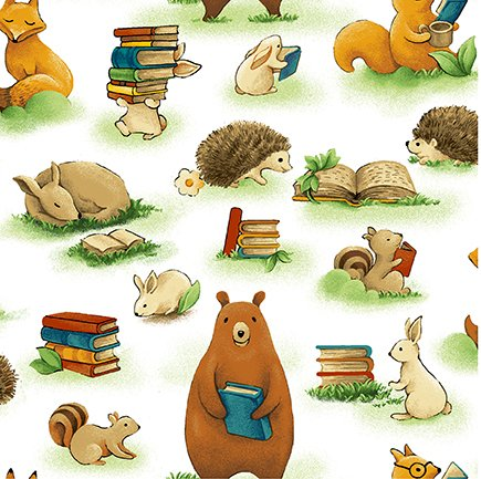 Forest Fables - Animals/Books