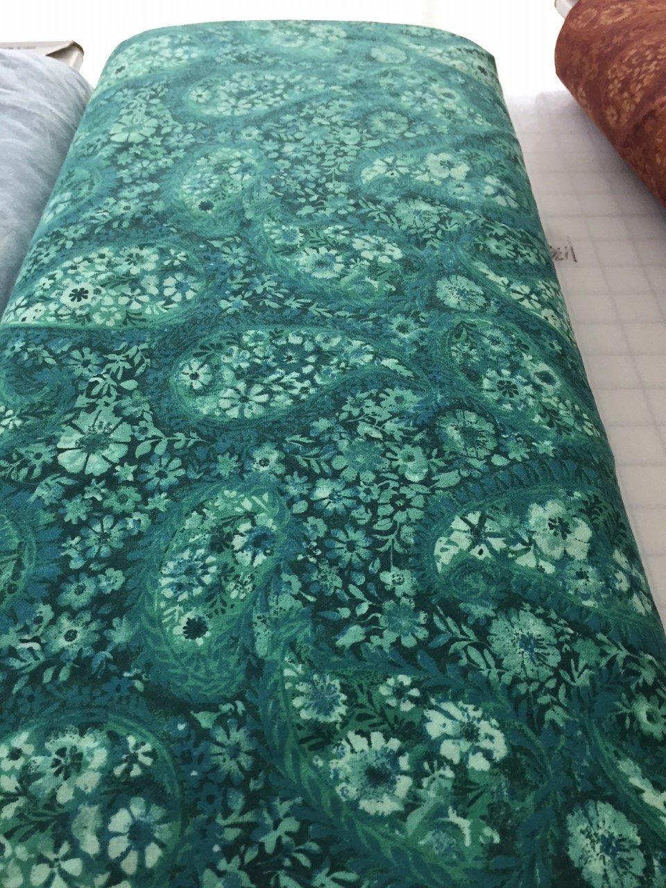 Paisley 108 -Emerald Green