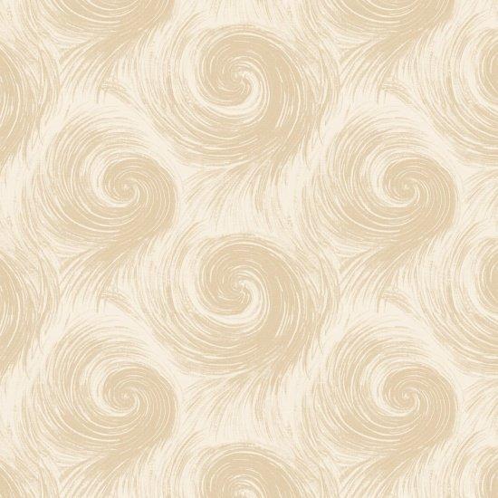 Breeze 108 - Cream and White Swirls