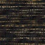 Shiny Objects - Good as Gold - Silk Scarf - Onyx Metallic Fabric