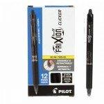 Frixion Clicker Pen - Black Fine Point 0.7mm