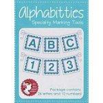 Blue Alphabitties Specialty Marking Tools