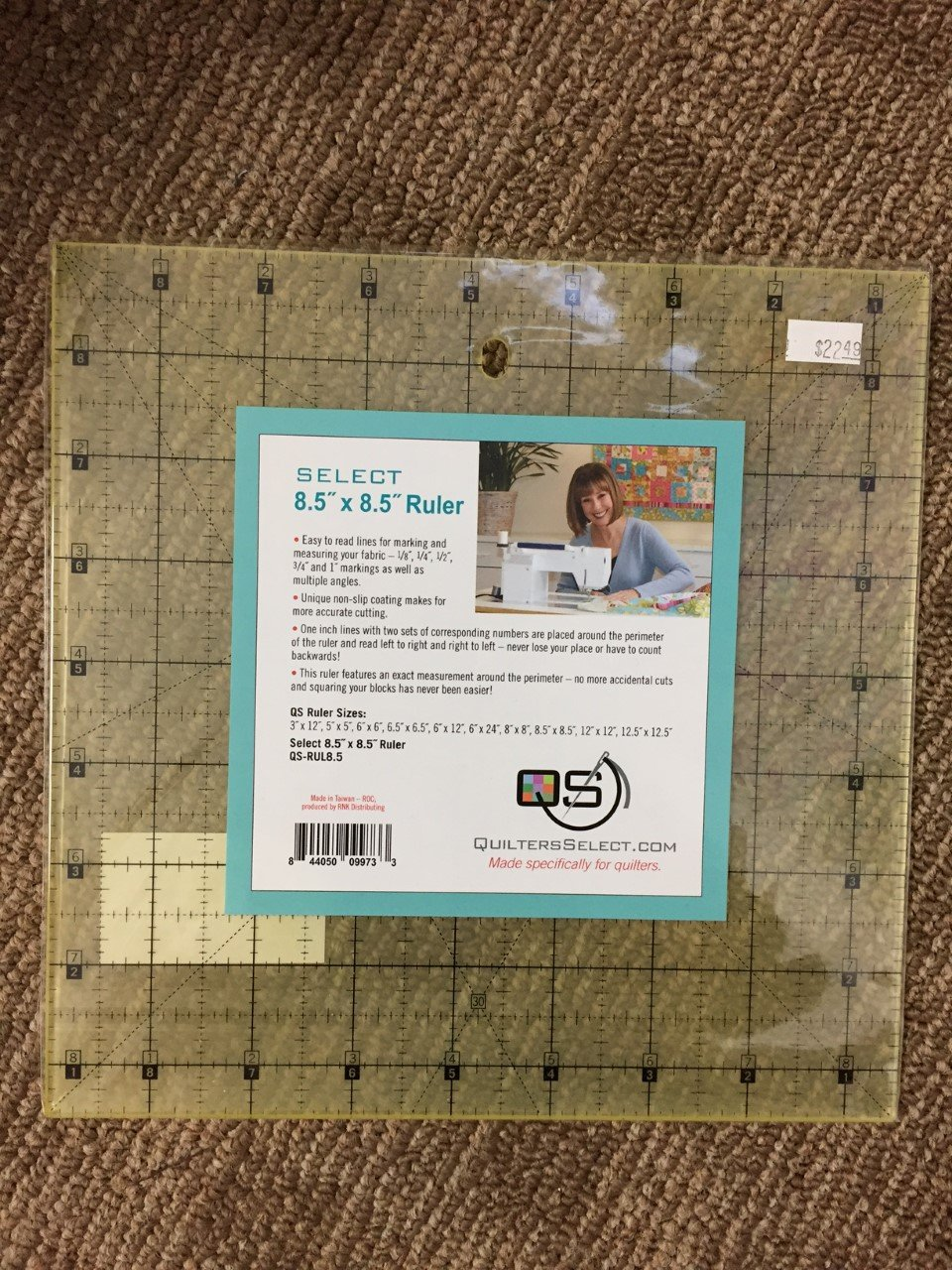 Quilters Select Rulers 8.5 x 8.5