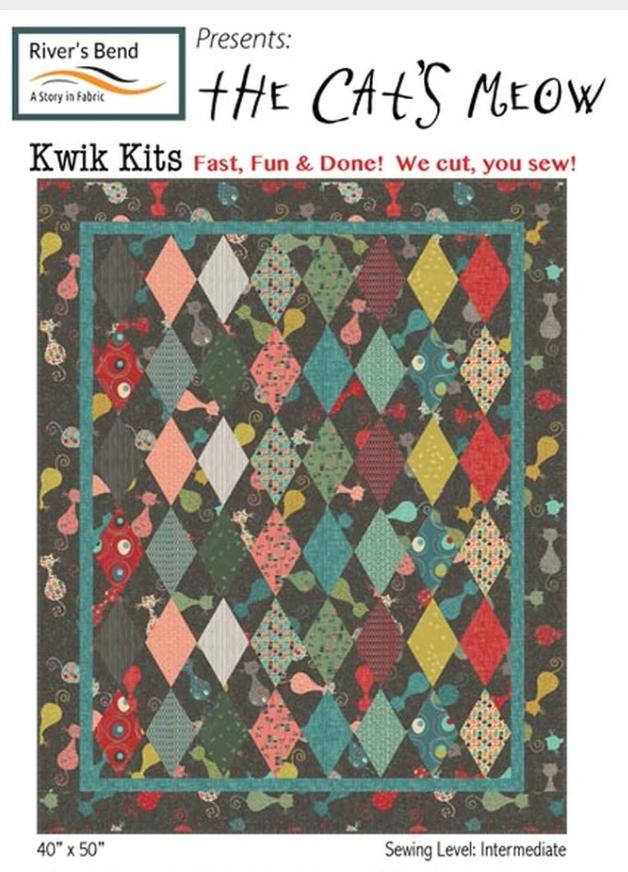 Atomic Revival - Cat's Meow PreCut Kit - 40x50