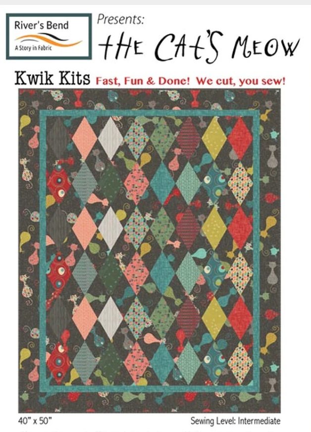 Atomic Revival - Cat's Meow PreCut Kit - 40x50
