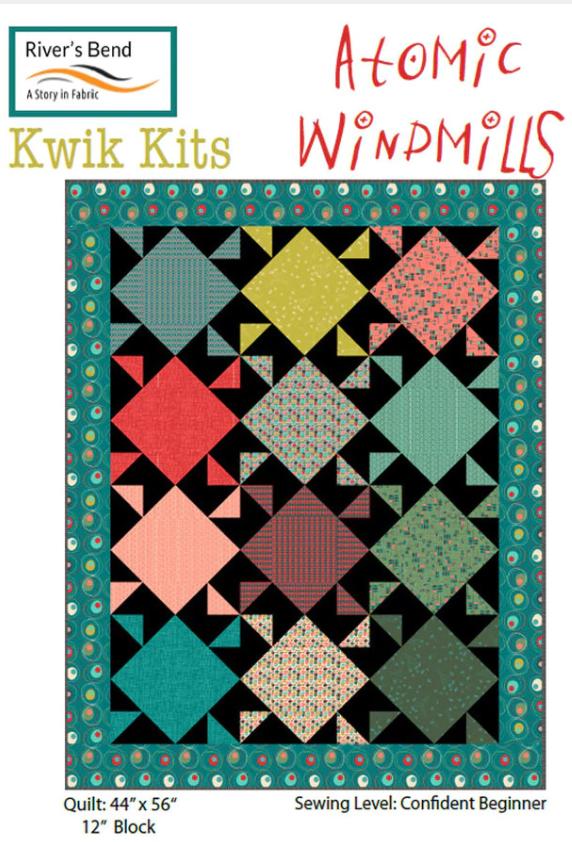 Atomic Revival - Windmills Pre-Cut Kit 44 x 56