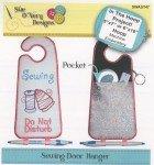 CD Sewing Door Hanger