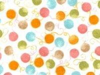 Flannel - Multi Color Yarn Balls