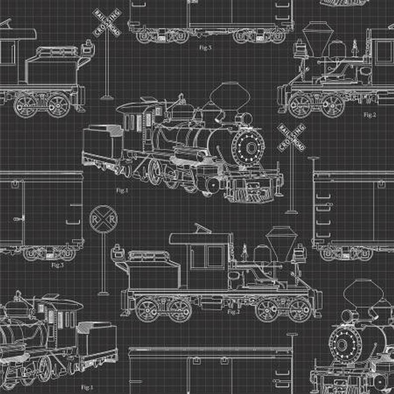 Autumn Steam - Outlines - 16588-CHC