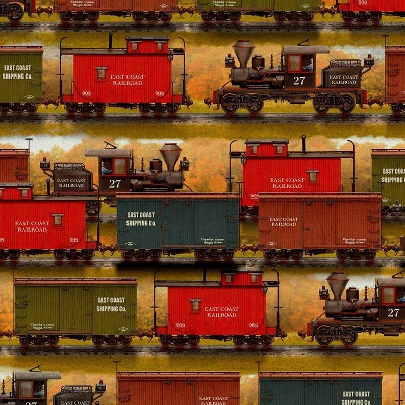 Autumn Steam - Train Yards - 16589-MLT