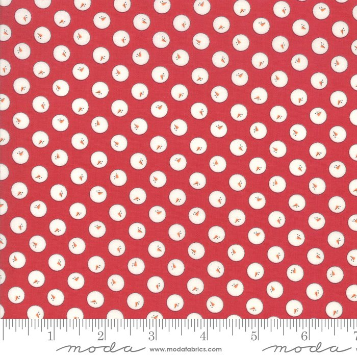 Country Christmas - Snowmen Red - 2963 12