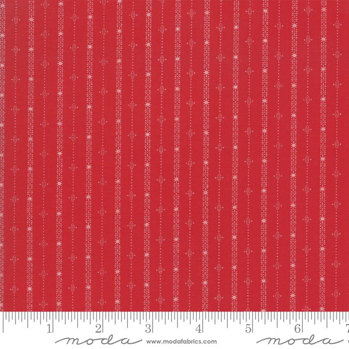 Country Christmas - Cardinal Red Stripes 2965 12
