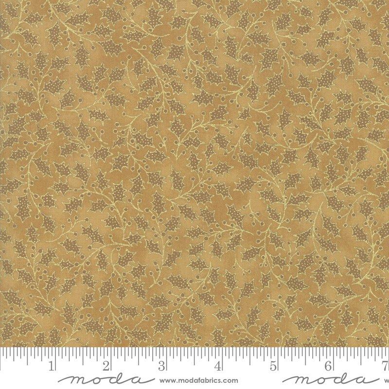 Poinsettia Pine Metallic - Gold 33515 18M