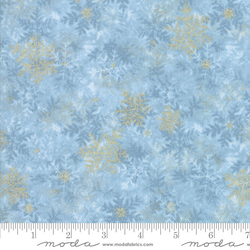 Forest Frost Glitter - Icicle - Light Blue - 33523 13MG