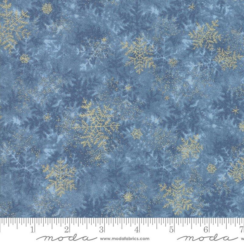 Forest Frost Glitter - Frozen Pond - Dark Blue - 33523 14MG