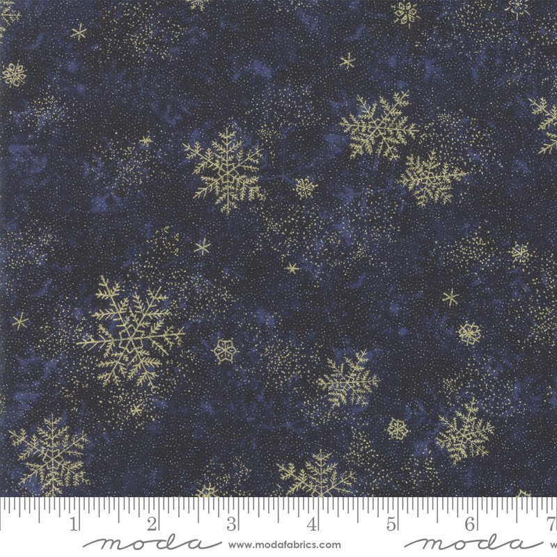 Forest Frost Glitter - Night Sky - Dark Blue - 33523 16MG
