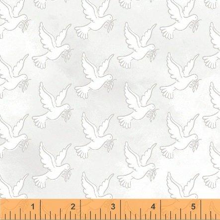 Faith - Doves - White 43027-3