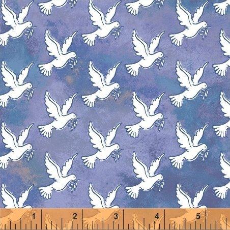 Faith - Doves - Blue 43027-4