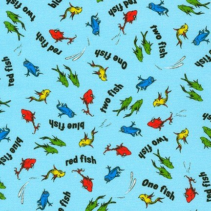 A Little Dr. Seuss - 20827-4 - Blue