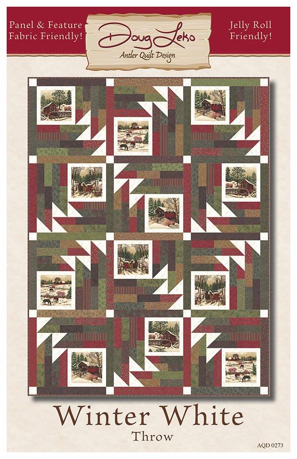 Antler Quilt Pattern - AQD 0273G