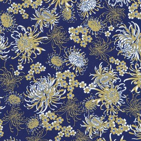 Sakura by Timeless Treasure   CM6160 Blue
