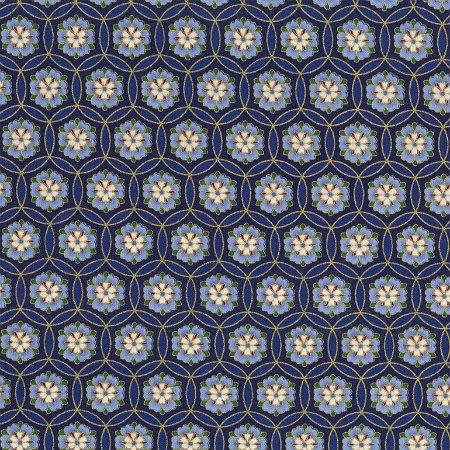Sakura by Timeless Treasure   CM6162 Blue
