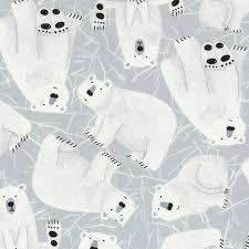 Kidz Polar Bears Grey C6815