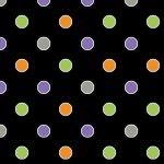 1676g-99 Black dot glow in the dark