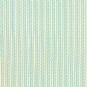 Moda  Ambleside  18607 14 Ducks Egg  Cream strip with pastel green  strip small print