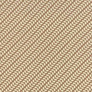 Moda  Elementary Sweetwater  5562-11 Cream Oval Leaves on Tan Background