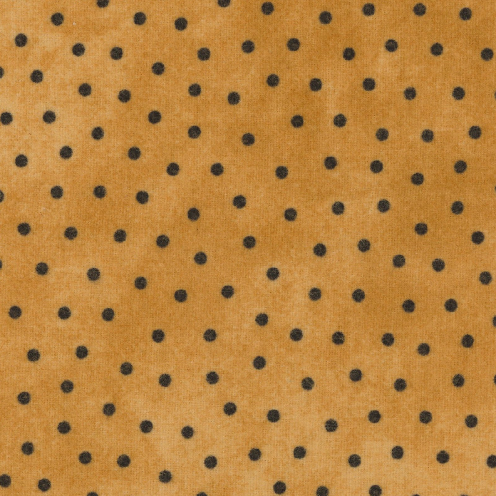 EES Maywood MASF18506-S woolies flannelgold w/black dots