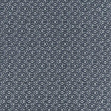 TT Fabrics  Gramercy  C2929 Diamond Geo Blue