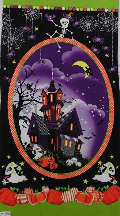9896PG 99 Panel House Frightful & Delightful Priced per panel Henry Glass
