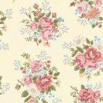 HEG8407-33 Tranquil Garden flower print