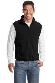 JP79  Large navy fleece vest