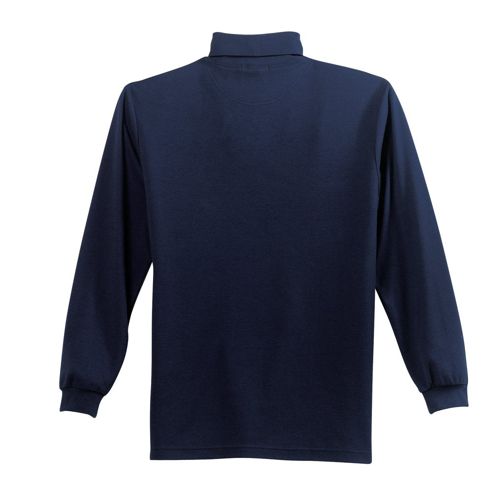 K322 NVY Turtleneck MED LSPort Authority