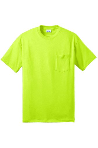 Safety yellow Tee - 4X-LARGE