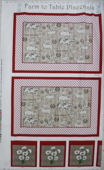 Panel Farm to Table Placemats