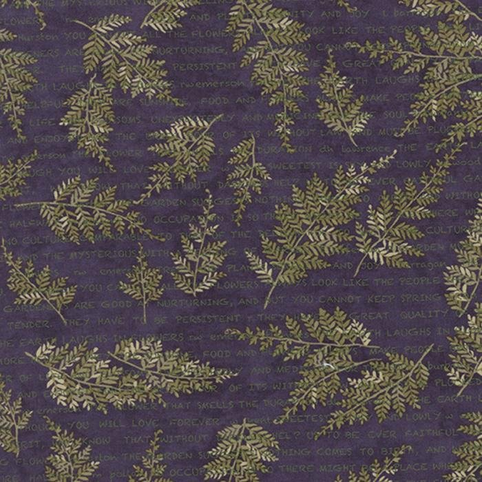 6622 - 16 Moda Potting Shed Violet Fern text
